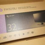BenQの31.5型ディスプレイ「EW3270U」をレビューしてみる