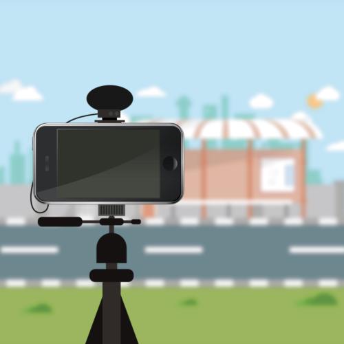 スマホでYouTubeの動画を撮影する方法【撮影機材】