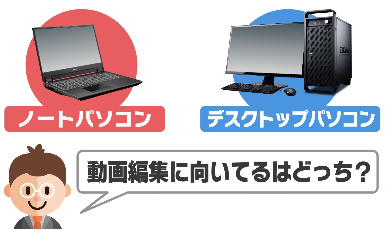 パソコン おすすめ 編集 動画